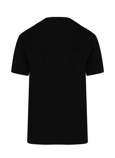 Hatemoğlu Bisiklet Yaka Basic Tişört Siyah